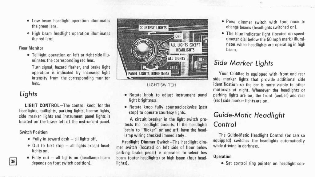 Scheinwerfer / Fernlicht 74er Cadillac - us-car-forum.net